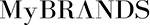 MyBRANDSのサイトロゴ